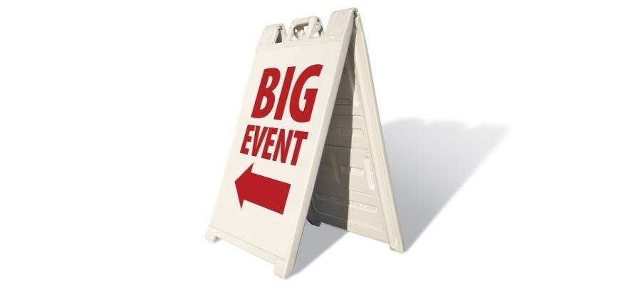 Big Event Sign